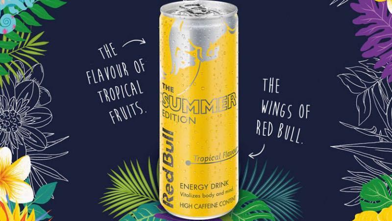 Campaña creativa Red Bull WingsOfSummer