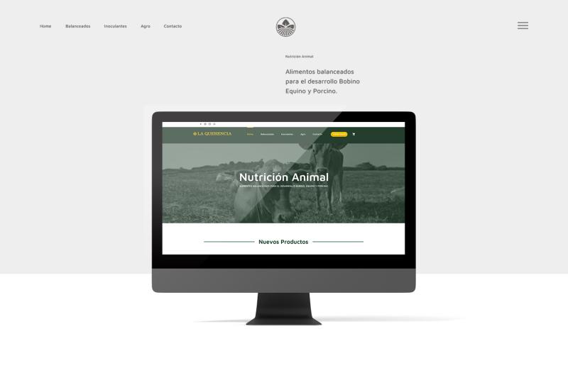 Diseño Web La Querencia